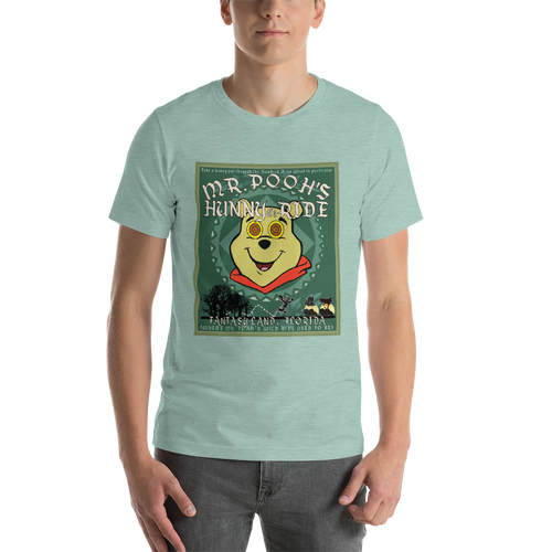 Mr. Pooh's Hunny of a Ride - Unisex Crew Tee
