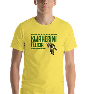 Kwaherini Felicia - Animal Kingdom - Unisex Tee