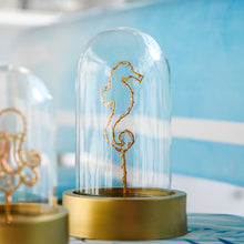 Sea Creatures Glass Dome Lamp