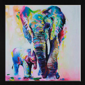Painted Elephants