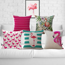 Flamingo Throw Pillows
