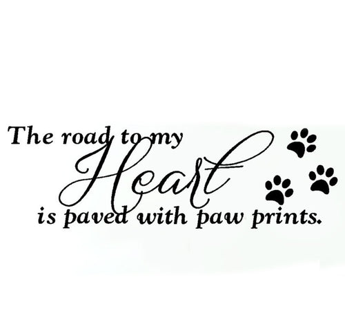 Paw Prints Wall Art