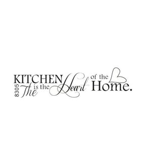 Kitchen is the Heart of the Home Wall Art