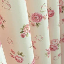 Oxbow Floral-Pattern Short Window Curtains