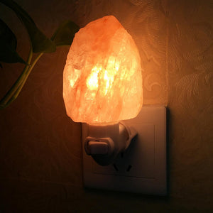 Hand-Carved Himalayan Salt Rock Night Light