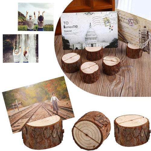 Tree Ring Picture Holders (10 Pack)