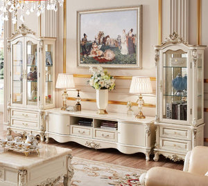Chantilly Cabinet Set and TV Stand