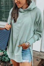 Load image into Gallery viewer, Chic Casual Loosen Long Sleeves Plain Hoodie
