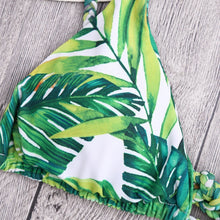 Load image into Gallery viewer, Summer Green Printed Swimsuit