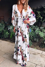 Load image into Gallery viewer, Sexy Fashion Floral Print Maxi Vacation Dress