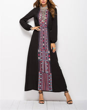 New Print Tunic Long-Sleeved Dress