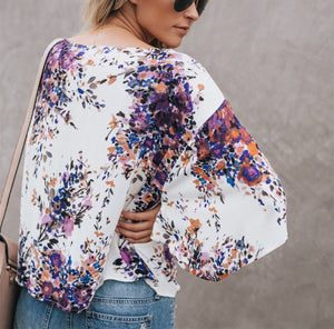 Digital Printing Large Size Chiffon Jacket