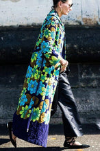 Load image into Gallery viewer, Vintage Ethnic Print Long Coat