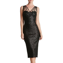 Load image into Gallery viewer, Sexy Bare Back Sequins Sleeveless Bodycon Dresses
