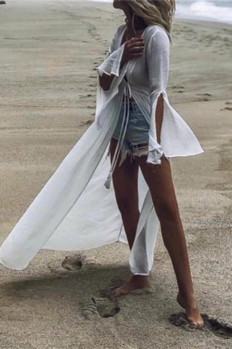 Sexy Open Ended Beach Vacation Dress
