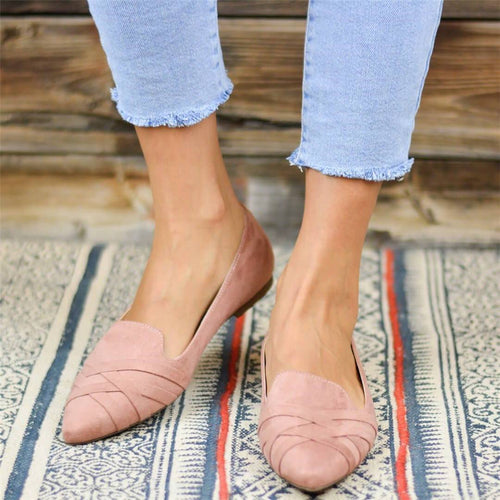 Fashion Versatile Pointed Casual Flats