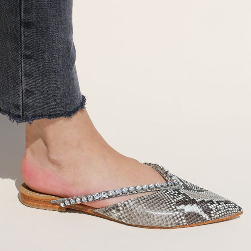 Fashion Wild Snake Point Pointed Casual Flats