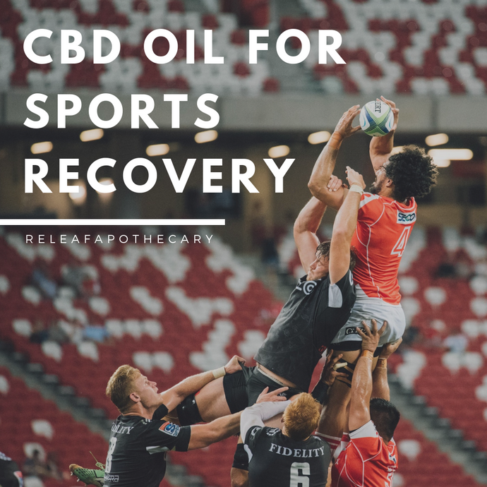 CBD OIL FOR SPORTS RECOVERY