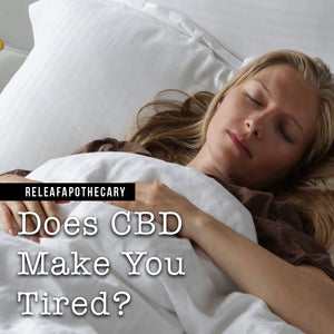 do you get tired while using cbd oil?