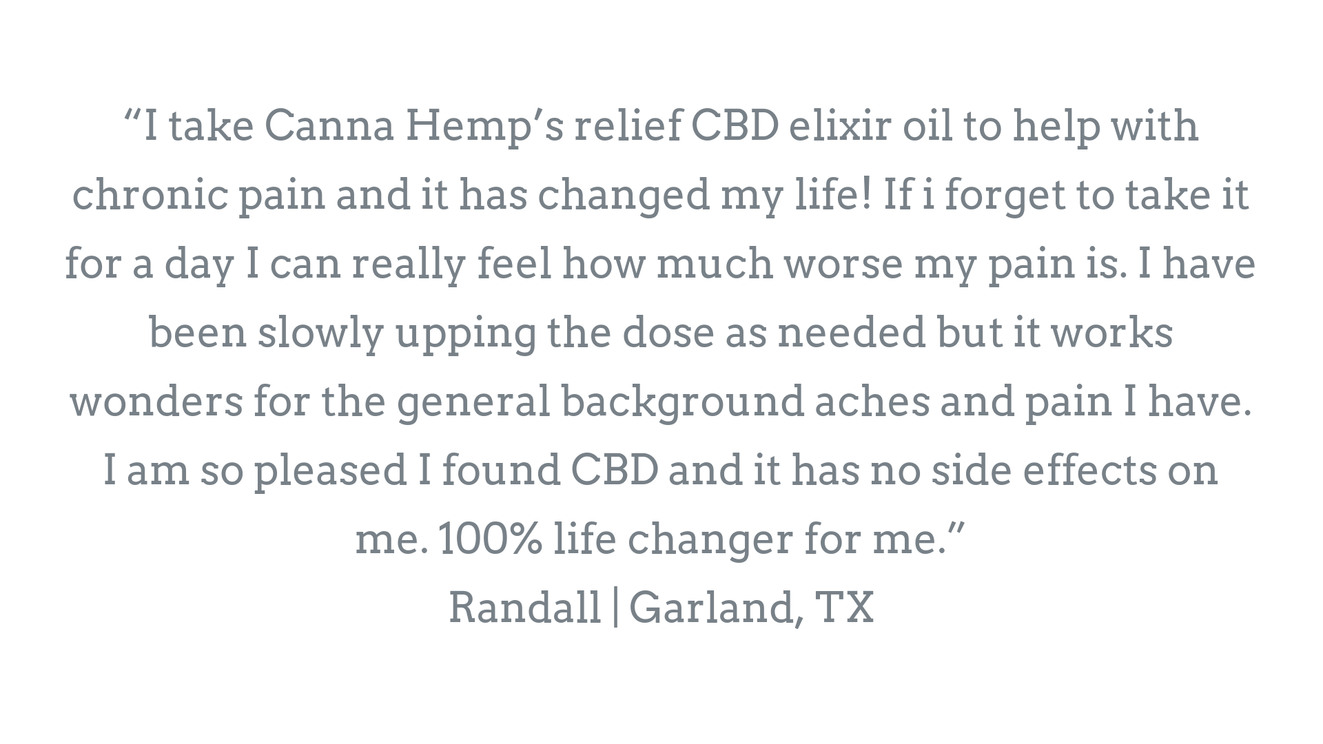 using cbd for chronic pain relief