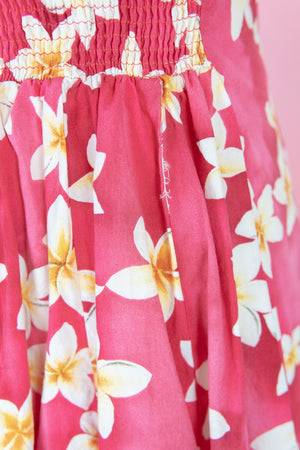 Hawaiian Print Fit N Flare Dress (XS)