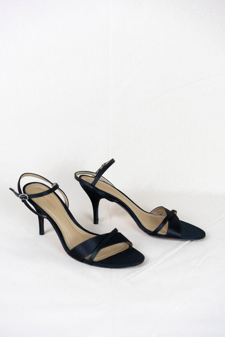 Large and Small Strap Heel (Size 6.5)