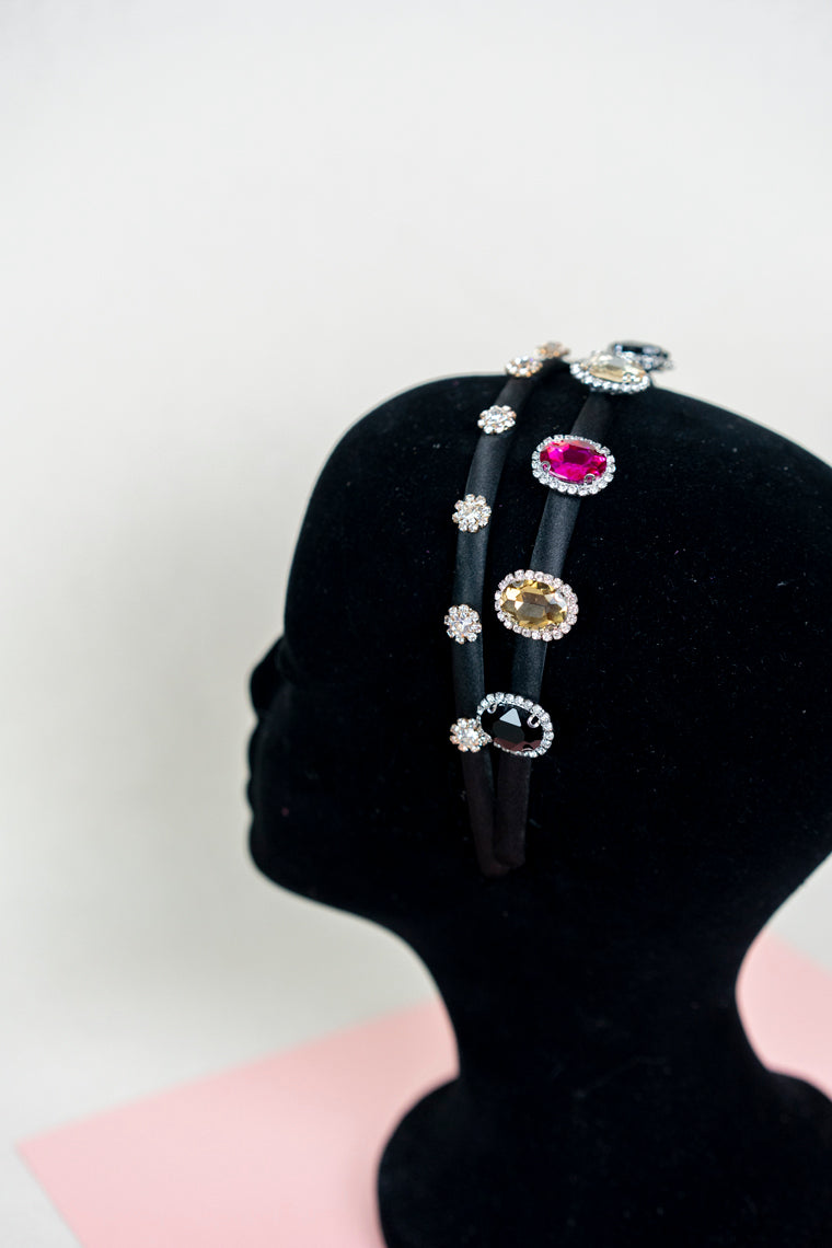 Large Rhinestone Headband