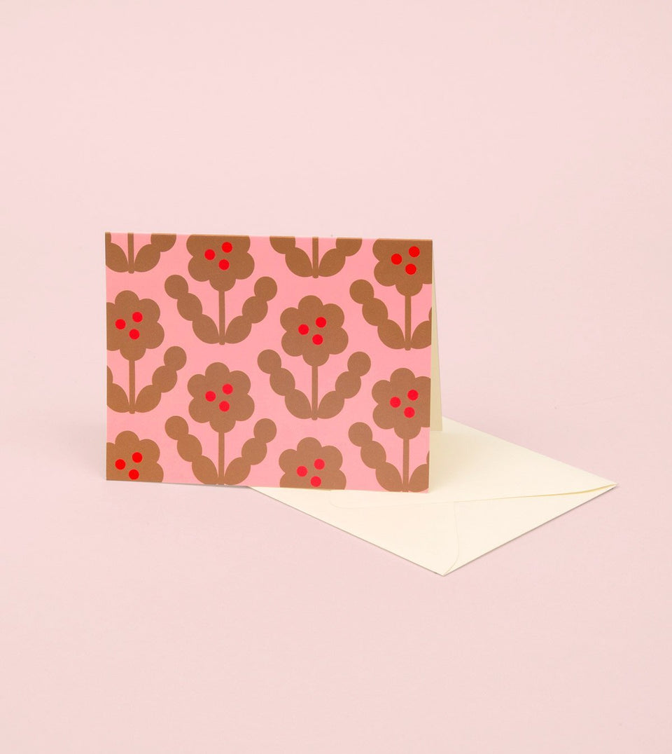 BLOSSOM GOLD GREETING CARD - GOLD PETAL - GM31-K - Clap Clap