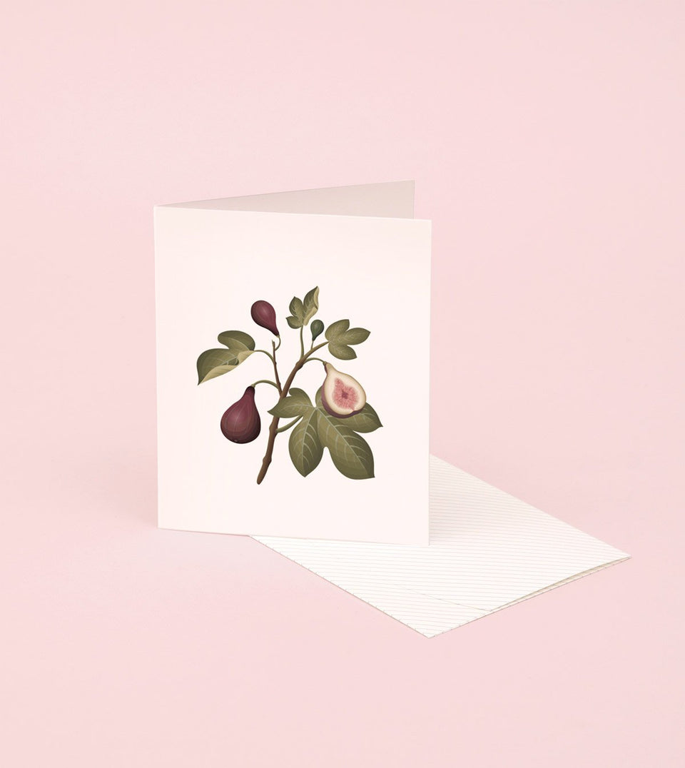 BOTANICAL SCENTED CARD – FIG - SG02 - Clap Clap