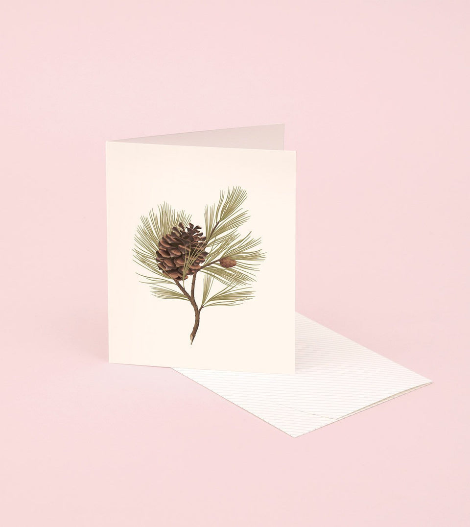 BOTANICAL SCENTED CARD – PINE - SG07 - Clap Clap