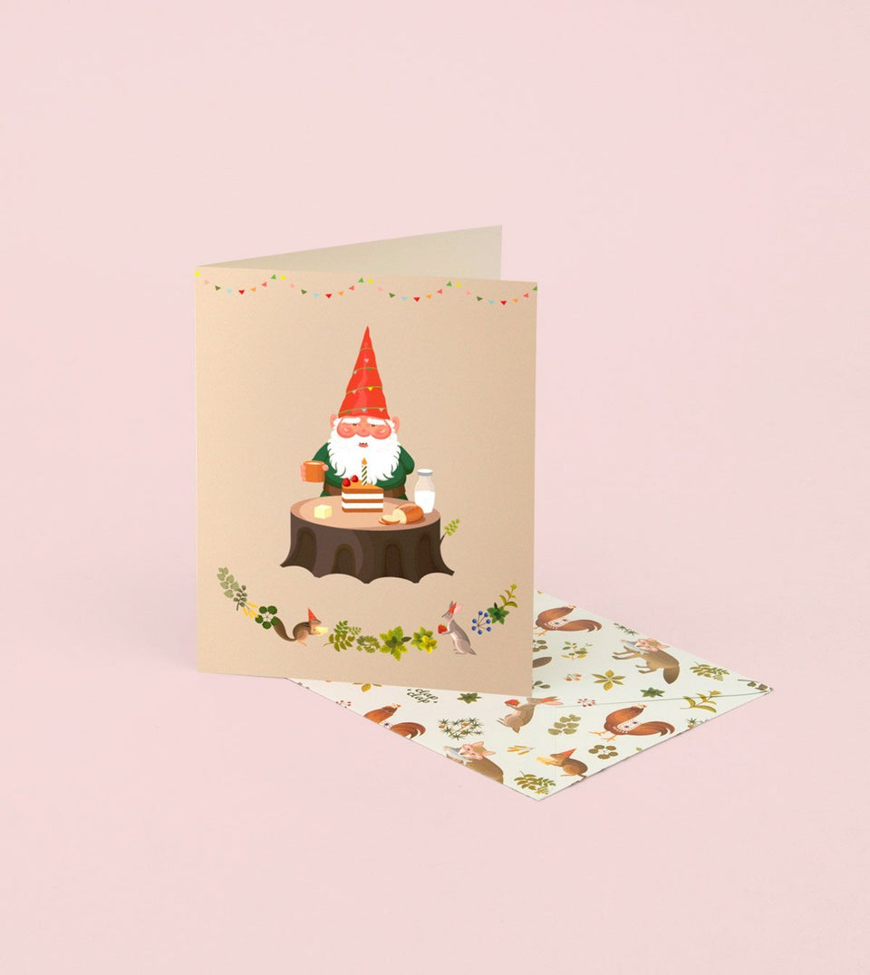 GNOME'S BIRTHDAY CARD - GB02 - Clap Clap