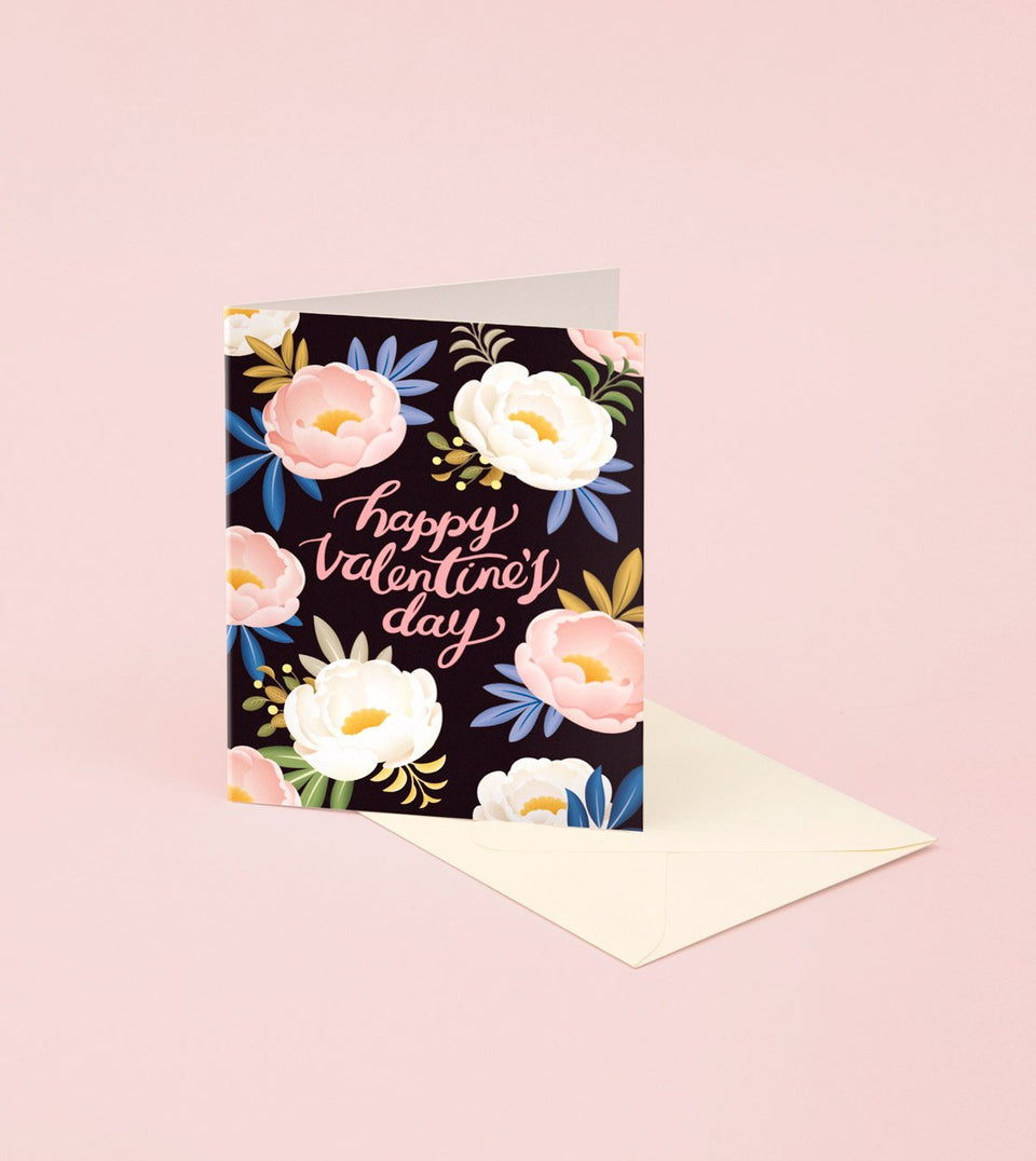 PEONY VALENTINE'S DAY CARD - GM23 - Clap Clap