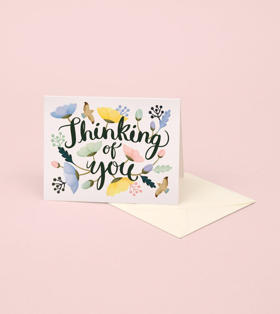 POPPY THINKING OF YOU CARD - GM18 - Clap Clap