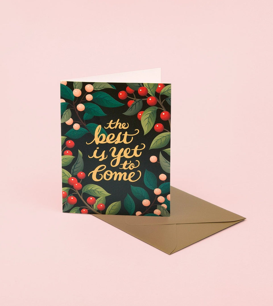 THE BEST IS YET TO COME CARD - GM16 - Clap Clap