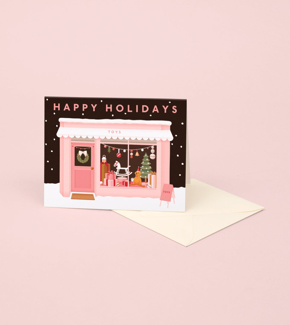 TOY SHOP HOLIDAY CARD - GH26 - Clap Clap