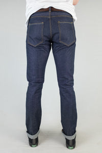 Chet Denim 101 Straight Fit Jeans Back View