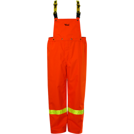 3010P Viking Journeyman® 300D Pantalon à bretelles Trilobal  HV IMPERMÉABLE/Trilobal Bib Pants VIKING - LES OUTILS BRICK & IRON TOOL