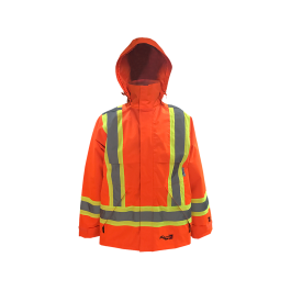 3907FRJO Viking IMPERMÉABLE Manteau/jacket HV Journeyman 300D Trilobal Rip-stop FIREWALL - LES OUTILS BRICK & IRON TOOL