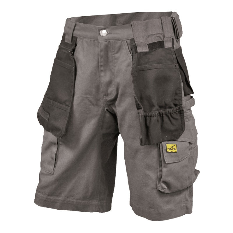 Bermuda de travail multi-poches/WORK SHORTS NAT'S WR285 - LES OUTILS BRICK & IRON TOOL