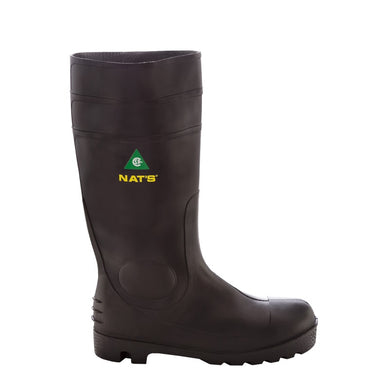 Botte de sécurité en PVC imperméable/Men's PVC safety boots NAT'S 1645 - LES OUTILS BRICK & IRON TOOL