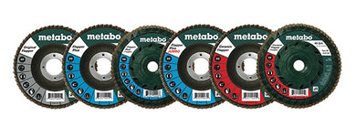 disques à meuler 5''/ FLAP DISC METABO