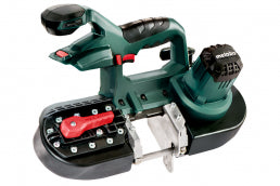 "SCIE À BANDE SANS FIL / cordless band saw 2.5"" MBS18 LTX 2.5 METABO - LES OUTILS BRICK & IRON TOOL"