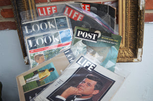 Life, Look, Post, and The Evening Bulletin Magazines (Lot of 13)