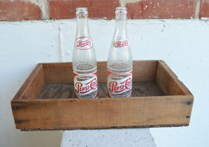 Sparkling Pepsi-Cola Bottles, '55 and '59