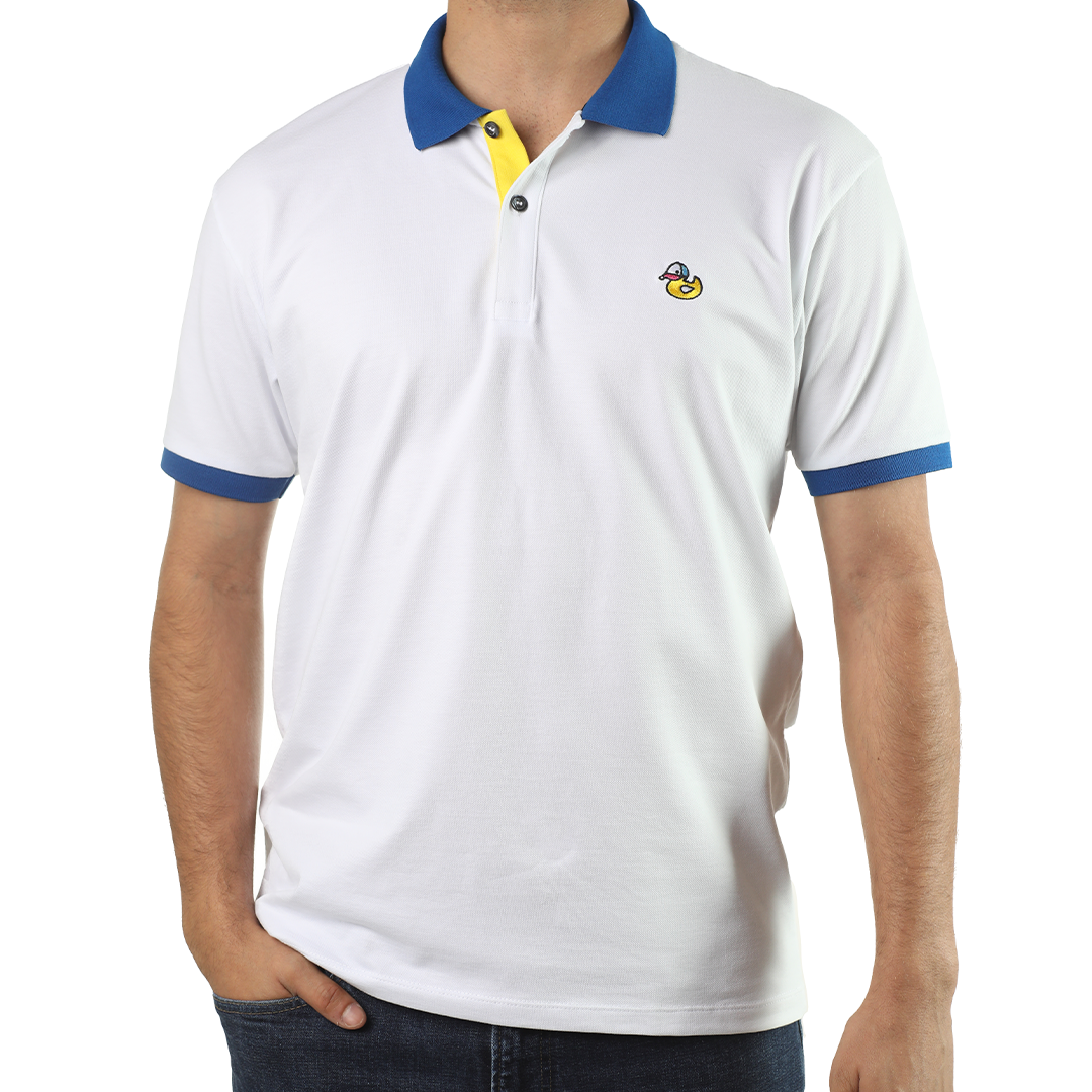 White and Blue Hule Polo