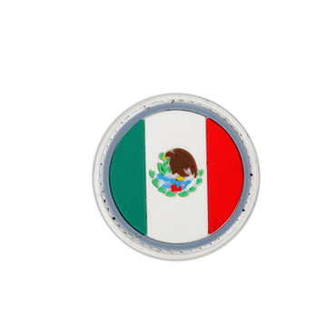 Mexico Rounded Flag