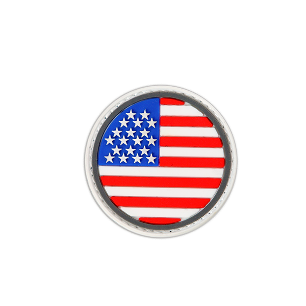 American Rounded Flag