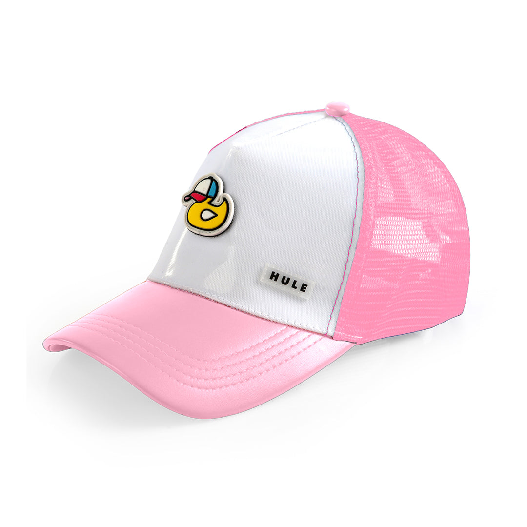Cotton Candy Pink Kids Hule Cap