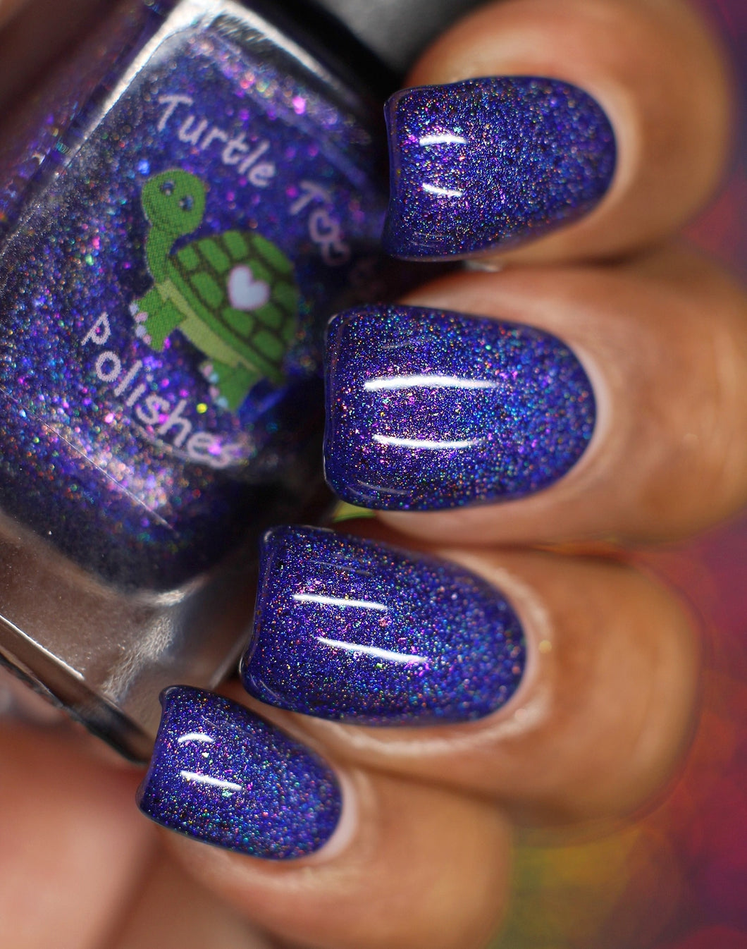 "Turtle Tootsie Polishes ""Blueberry Cheesecake"