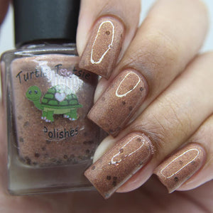 "Turtle Tootsie Polishes ""Cookie Dough"""